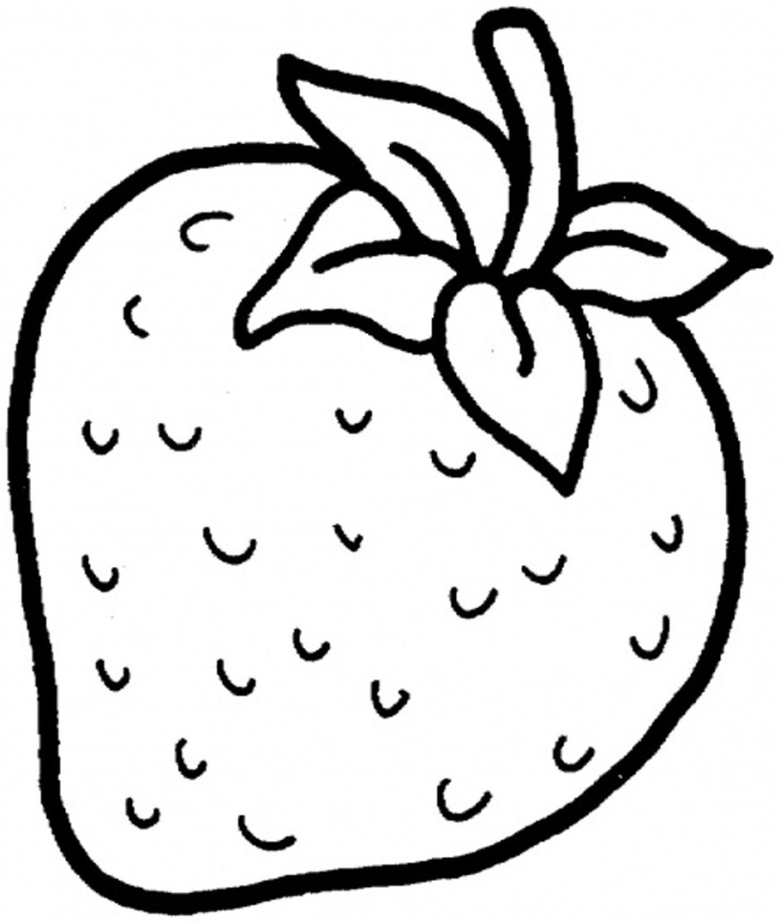 Strawberry Coloring Page Strawberry Shortcake Coloring Pages Coloring Pages For Kids