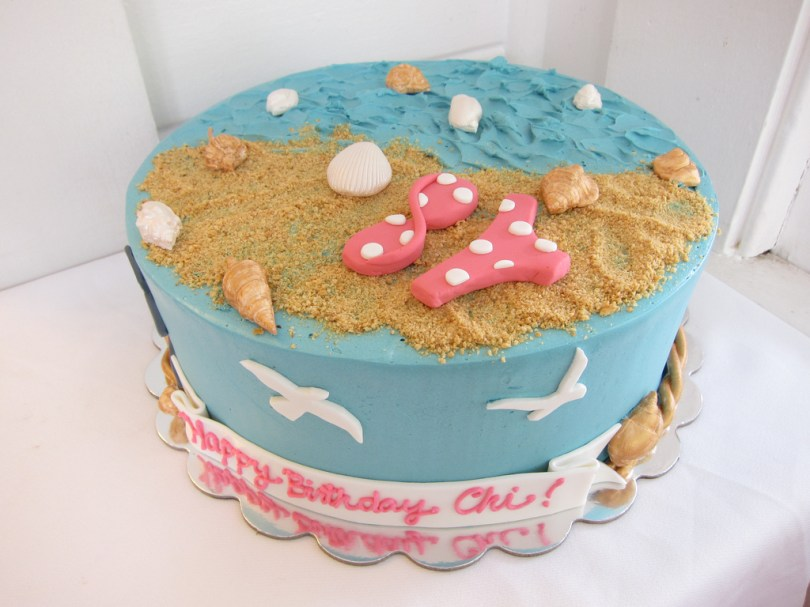Summer Birthday Cakes Summer Birthday Cake Polkadots Olga Flickr