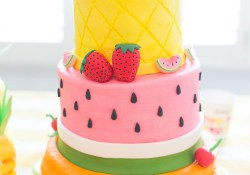 Summer Birthday Cakes Two Tti Fruity Birthday Party Blakely Turns 2 Creative Cakes