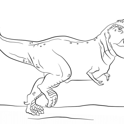 T Rex Coloring Pages Jurassic Park T Rex Coloring Page Free Printable Coloring Pages