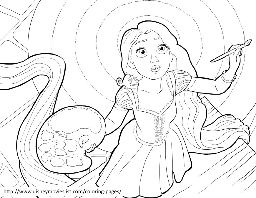 Tangled Coloring Pages Tangled Coloring Pages Online Free Org Printable In Unusual