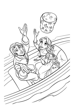 Tangled Coloring Pages Tangled For Children Tangled Kids Coloring Pages