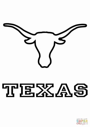 Texas Coloring Pages Texas Coloring Book Pages Fresh Texas Coloring Pages To Print Lovely