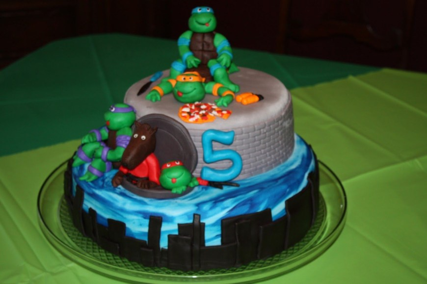 Tmnt Birthday Cake 25 Amazing Image Of Tmnt Birthday Cakes Tmnt Birthday Cakes Sweet