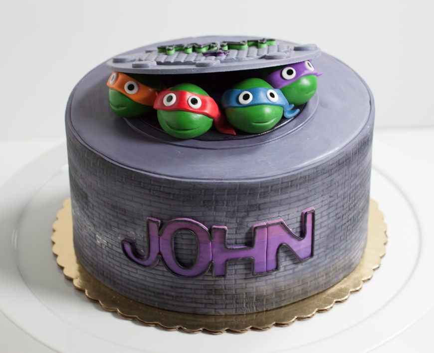Tmnt Birthday Cake Teenage Mutant Ninja Turtles Birthday Cake