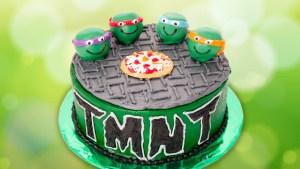 Tmnt Birthday Cake Teenage Mutant Ninja Turtles Cake From Cookies Cupcakes And Cardio