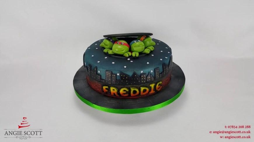Tmnt Birthday Cake Tmnt Birthday Cake Angie Scott Cakes Youtube