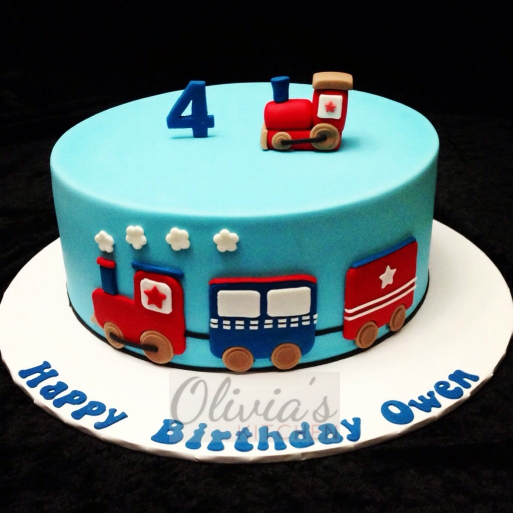 Train Birthday Cake Themed Oliviaskitchen Flickr