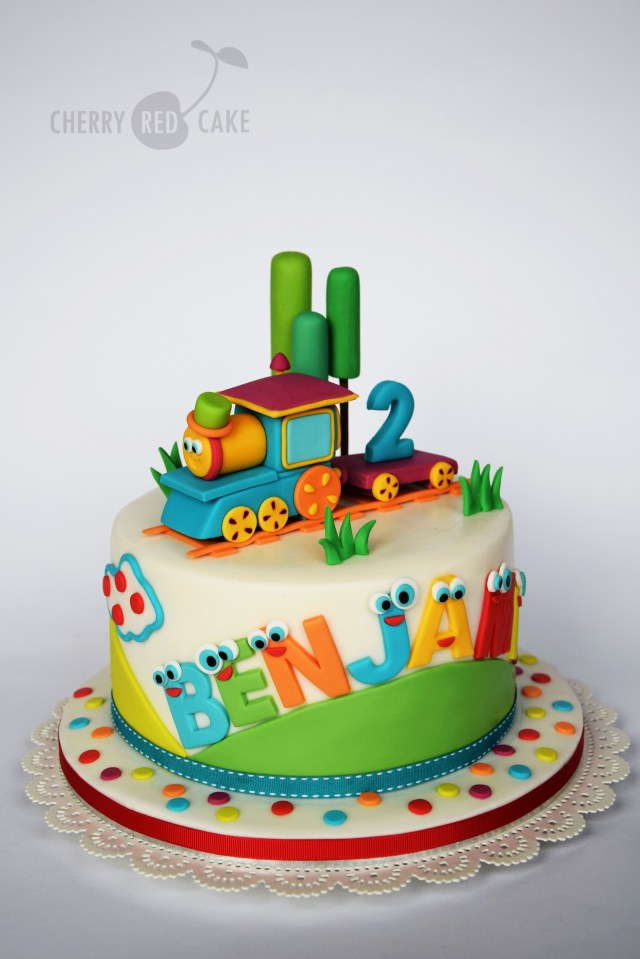 Train Cakes For Birthdays Bob The Train Cake Cherry Red Cake Pinterest Cake Birthday