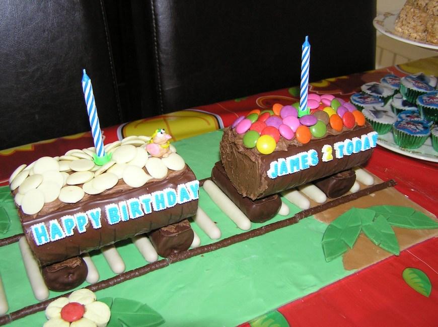 Train Cakes For Birthdays No Bake Train Cake Nicolas No Bake Birthday Cakes