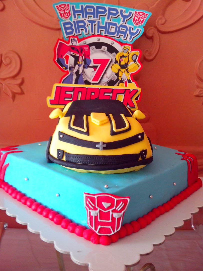 Transformers Birthday Cake 11 Easy Transformer Birthday Cupcakes For Boys Photo Transformers