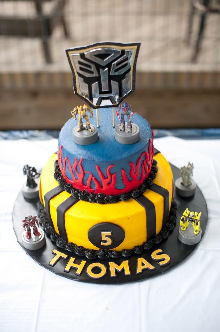 Transformers Birthday Cake Transformer Birthday Cakes