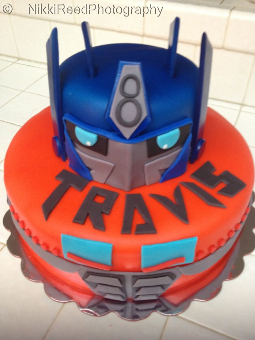 Transformers Birthday Cake Transformers Birthday Cake Nice Stuff Trans