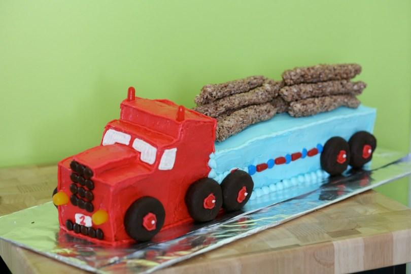 Truck Birthday Cake Lorry Birthday Cakes