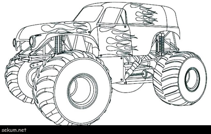 Trucks Coloring Pages Cars And Trucks Coloring Pages Free Colouring Pages Cars Coloring