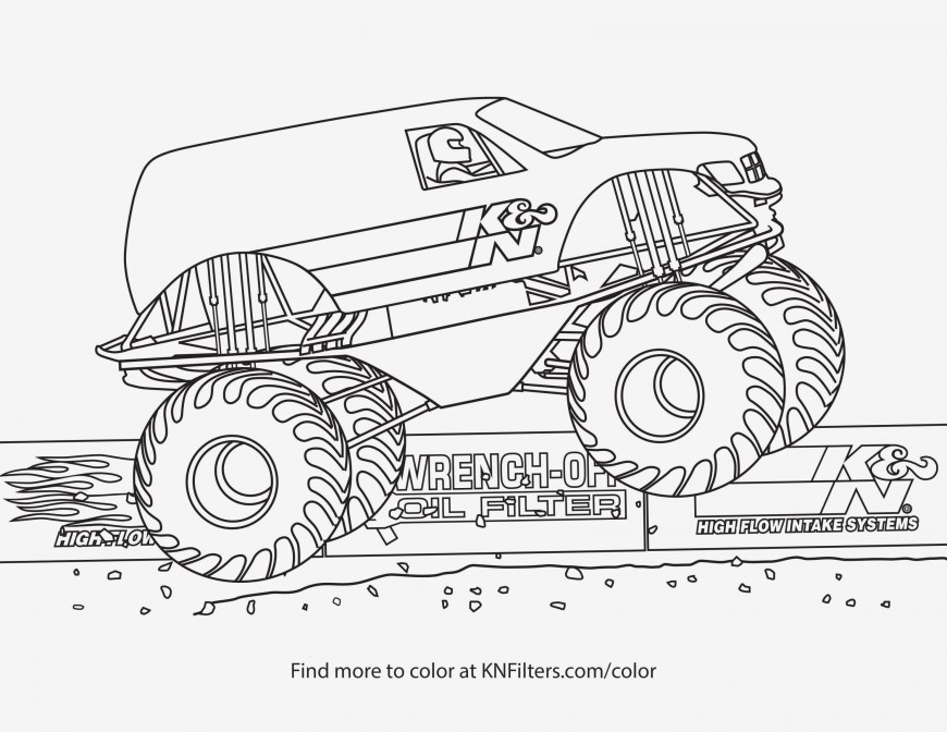 Trucks Coloring Pages Monster Truck Coloring Pages Images Of Printable Coloring Pages
