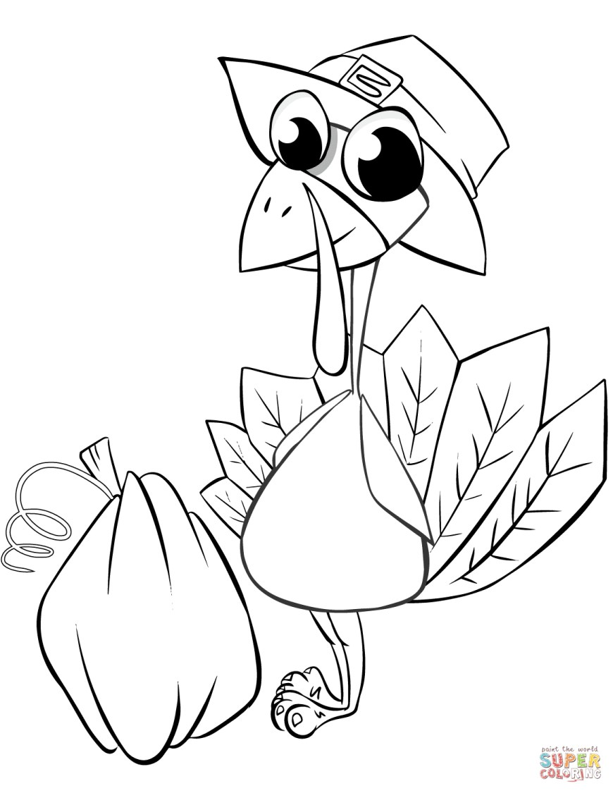 Turkey Coloring Pages Turkey Coloring Pages Free Coloring Pages