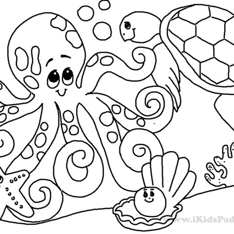 Under The Sea Coloring Pages Under The Sea Coloring Pages Gamz Me 1024768 Attachment Lezincnyc