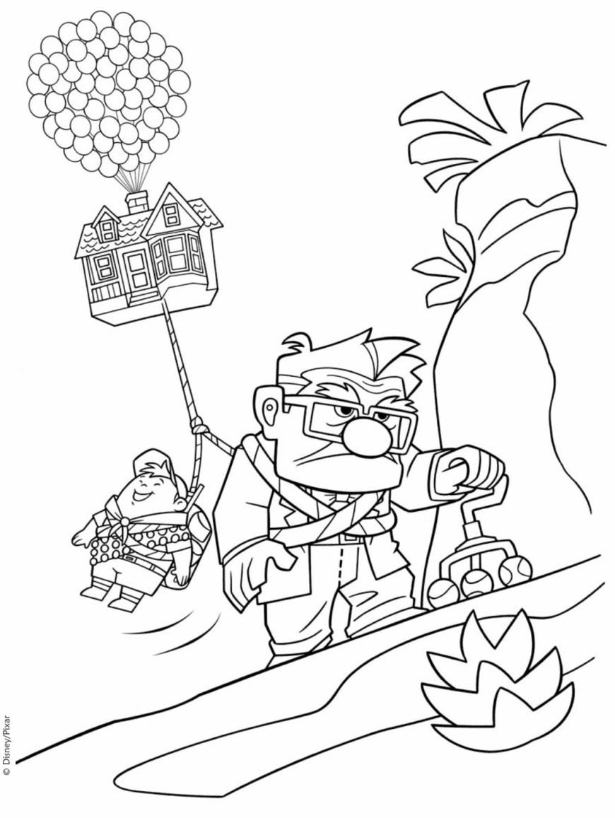 Up Coloring Pages Coloring Page Up Colorings Best For Kids Free Printables Marvelous