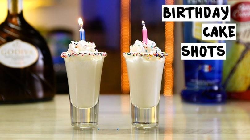 Vanilla Birthday Cake Shot Birthday Cake Shots Tipsy Bartender