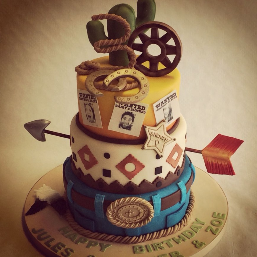 Western Birthday Cakes Cowboys And Indians Wild West Cake Cakes Pinterest Birthday