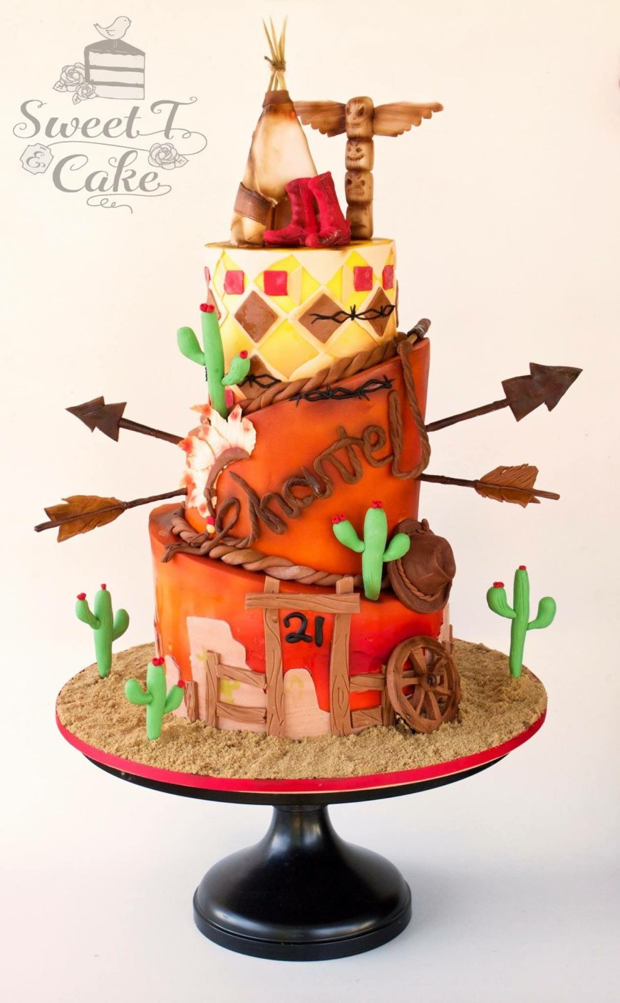 Western Birthday Cakes Western Theme Cake Cowboys And Indians Cakes To Make Pinterest
