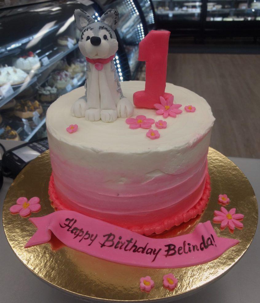 Wolf Birthday Cake Disney Character Balto Birthday Cake Goodies Bakeshop