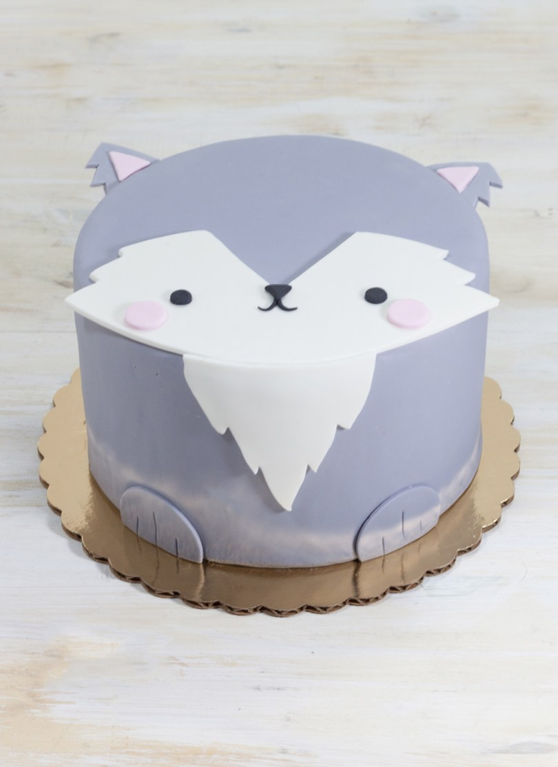 Wolf Birthday Cake Wendell The Wolf Cake Whipped Bakeshop