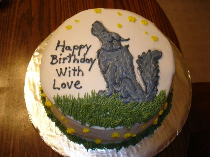 Wolf Birthday Cake Wolf Birthday Cake Cakecentral