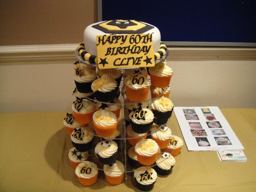 Wolf Birthday Cake Wolves Wolverhampton Wonderers 60th Birthday Cake Matching