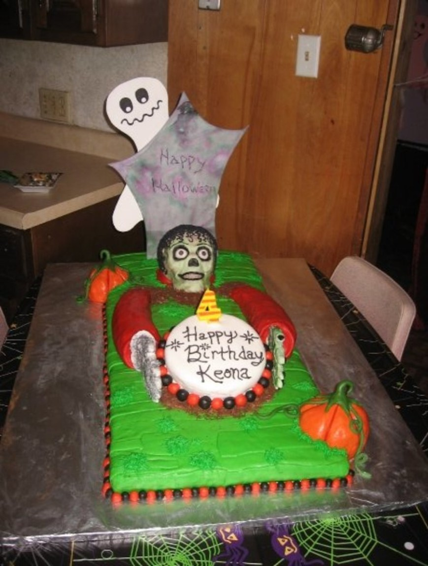 Zombie Birthday Cake Michael Jackson Zombie Birthday Cake Cakecentral