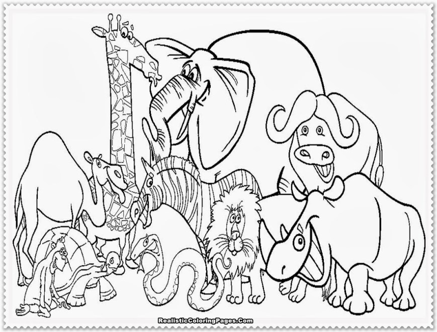 Zoo Coloring Pages Zoo Coloring Page Coloring Pages