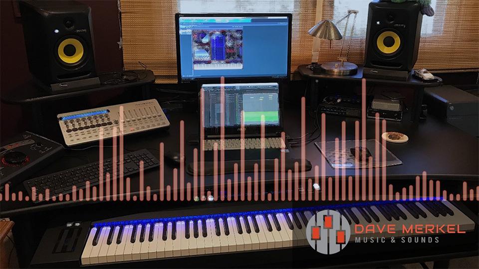 studio with eq display