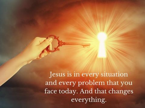 Jesus in every problem