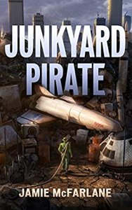Book Cover of Junkyard Pirate