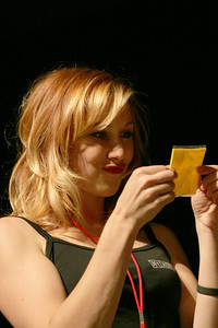 2006 Kari Byron and a slice of cheese
