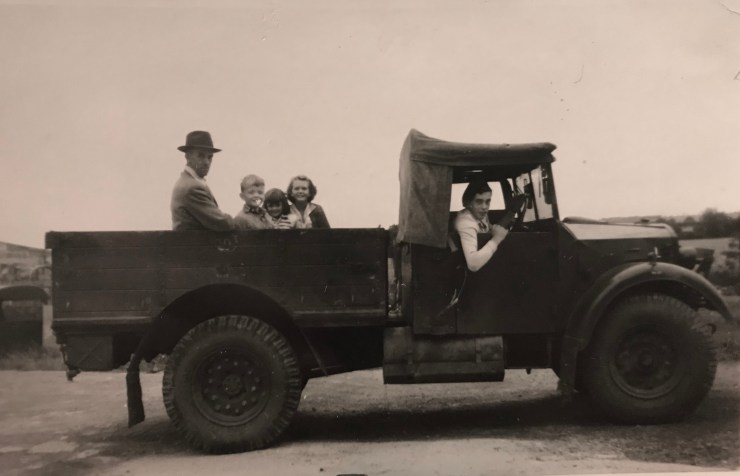 Ford, Truck, Farm, Classic, Vintage, Family