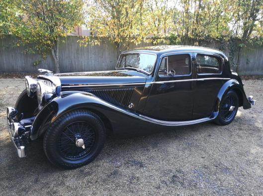 FOR SALE – 1948 Jaguar MK4 3.5 litre saloon