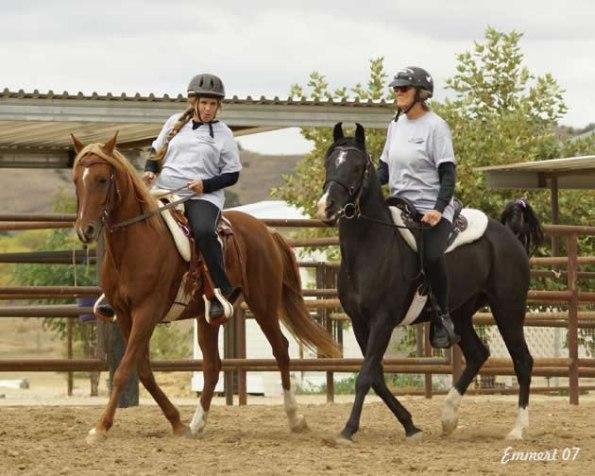 left Kaleela Krush w-Donna Kush right SRA Amtaal with Kaarin Ferguson