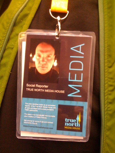 TNMH badge / Laminated at Staples - John Biehler