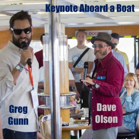 keynote on a boat