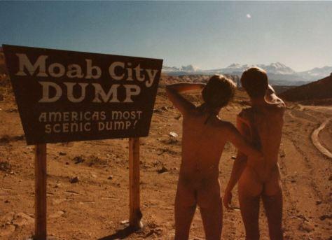 At Moab, Utah landfill, world's most scenic