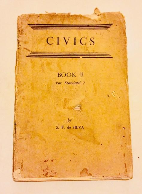 Civics, Book 2, for Standard 7 –Sri Lanka Books & Ledgers