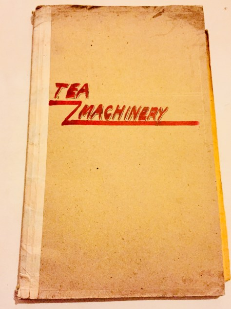 Tea Machinery – Sri Lanka Books & Ledgers