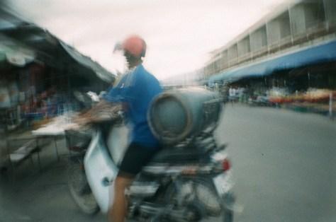 Scenes of Life in Phitsanulok: tank, delivered