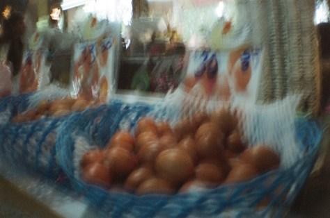 Scenes of Life in Phitsanulok: market eggs