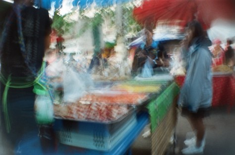 Scenes of Life in Phitsanulok: market food