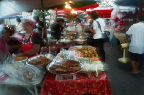 Scenes of Life in Phitsanulok: market life