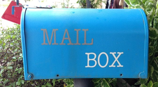 Post'd: anything in your post box recently?