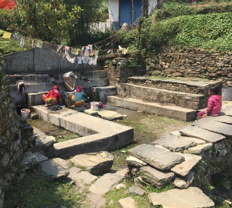 Annapurna laundry girl